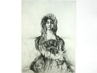 """Looking at Goya. Dona Antonia Zárate"" Луї ле Брока"